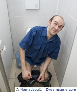 Public toilet seat