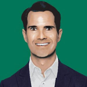 face of Jimmy Carr