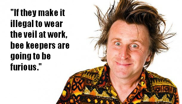 Milton Jones joke