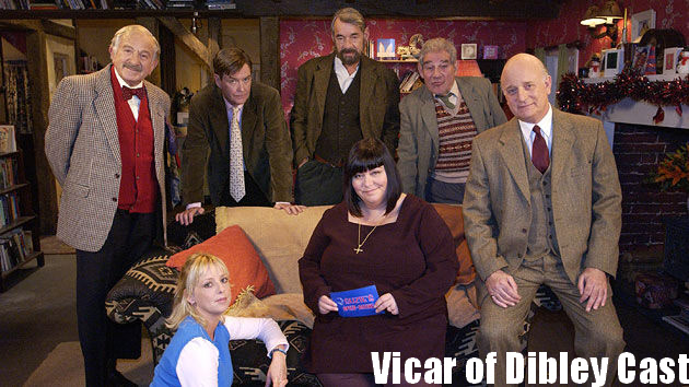 Cast of Vicar of Dibley