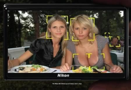 Face recognition on a digital camera gone wrong