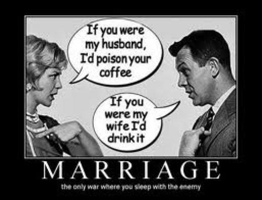Marriage demotivational poster