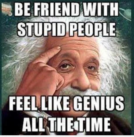 Feel like a genius