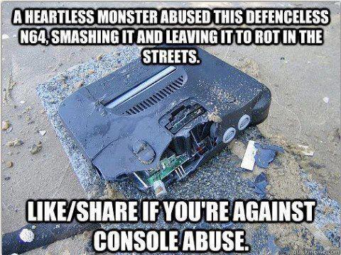 Campaign to stop console abuse