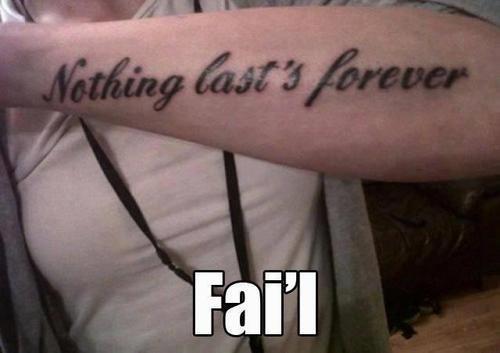 Massive fail with new tattoo