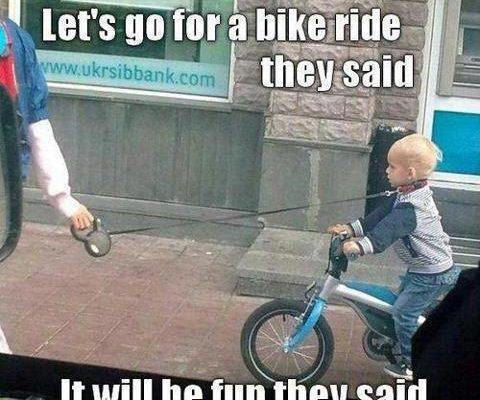 Victim On Bike Meme Wwwpicturessocom